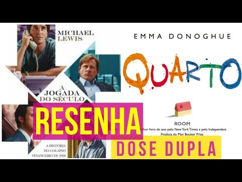 QUARTO (Room) & A JOGADA DO SÉCULO (The Big Short) - Resenha dupla @grupoeditorialrecord #2DB