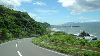 絶景ドライブ尻屋崎→尻屋→岩屋→野牛・下北半島ShimokitaPeninsula