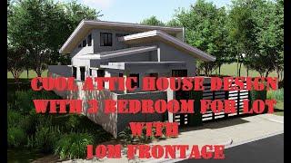 Attic Type 3 Bedroom Residential House