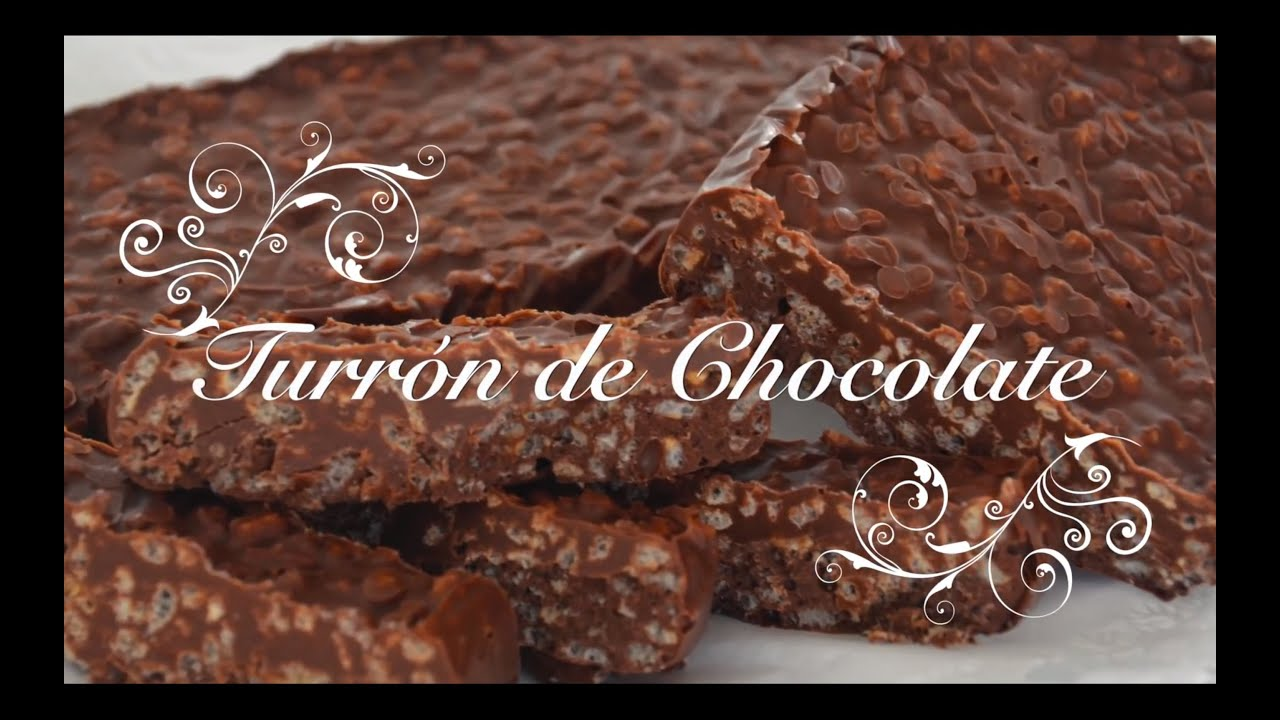 Turron de Chocolate Casero Receta Thermomix | Turron Thermomix | Turron de Chocolate Thermomix