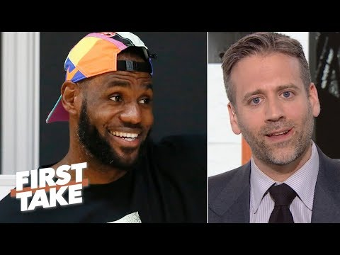'Why do the Lakers always get their man?'- Disgruntled Knicks fan Max Kellerman   First Take