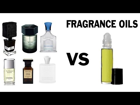 Mens Fragrance Oils Review (Perfume Parlour)