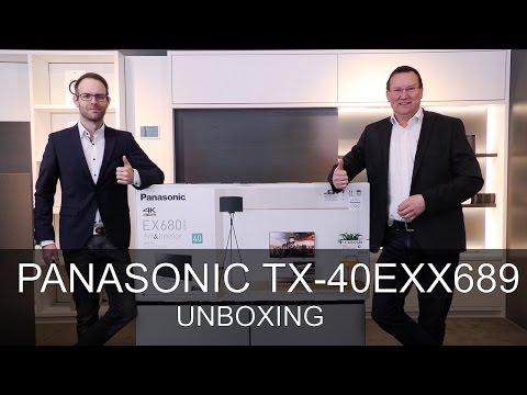 Panasonic TX-40EXX689 Unboxing - Thomas Electronic Online Shop - EXX689 - 49EXX689 - 55EXX689
