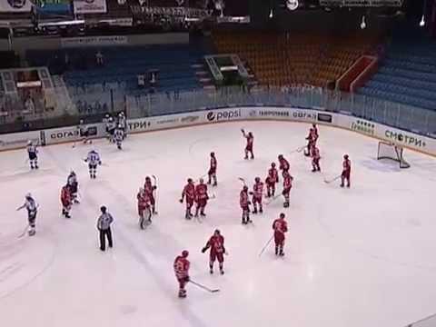 """Авто"" 4-2 ""Снежные барсы"", голы (12.01.15)"
