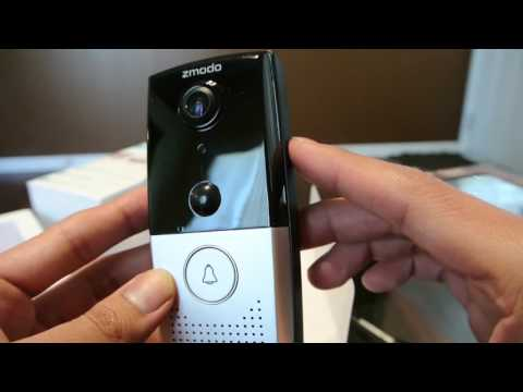 Zmodo Greet - Smart WiFi Video Doorbell Overview and Demo