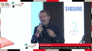 Sacha Lakic | Designing with emotion and the paradox of technology