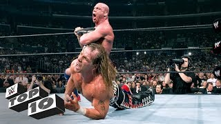 Kurt Angle's most thrilling tap outs: WWE Top 10, March 18, 2019