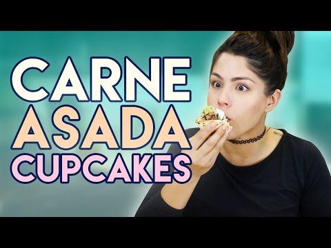How to Cook: Carne Asada Cupcakes
