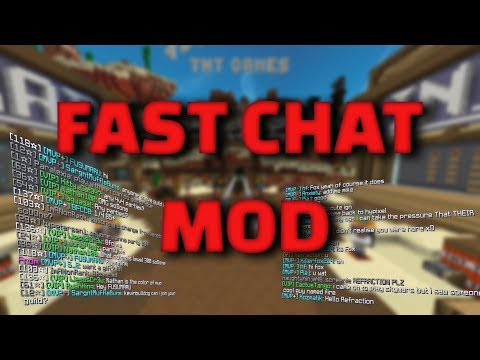 How to make Minecraft chat clear - FastChat Mod