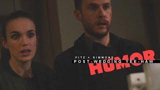 Fitz + Simmons | Post-wedding Yee-haw [Humor]