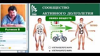 ACLON: Обмен жиров в организме и флуревиты | Рытиков В.