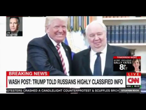 Washington Post and now NYT Trump revealed highly classified information to Russian foreign minister