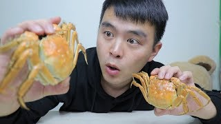 试吃阳澄湖大闸蟹,超大的蟹黄,配上肉质鲜美的蟹肉好吃到起飞