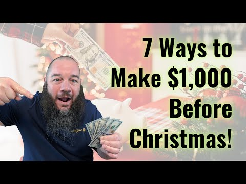 , title : '7 Awesome Ways to Make Extra Money Before Christmas 🎄 🎅 🎁