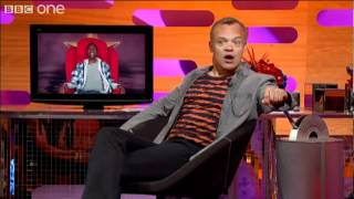 FABULOUS use of the word 'peruse' - Graham Norton Show preview - BBC One - YouTube.flv