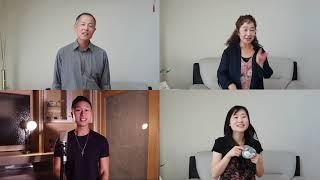 小潘潘 + 小峰峰  《學貓叫》【Sam Lin Family Cover】