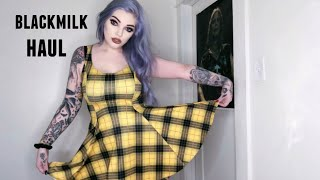 Blackmilk Clothing Haul & Try On