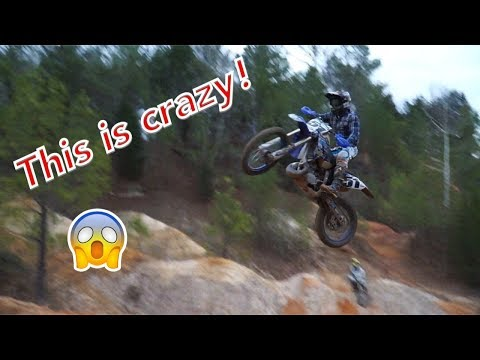 2 STROKE GOES INSANE BIG AT SAND PIT!!