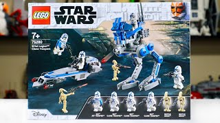 LEGO Star Wars 75280 501st Legion Clone Troopers Review! (2020)