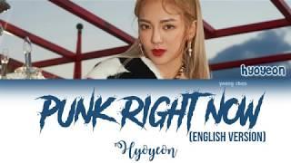 HYO & 3LAU - Punk Right Now (English Ver.) Lyrics