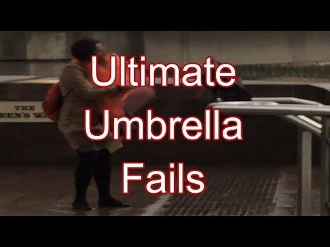 Umbrella Fails Compilation