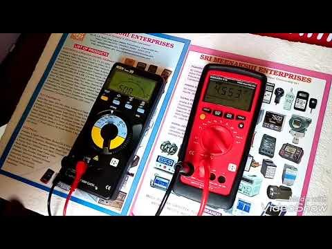 Insulation Testers Model: Insu 10