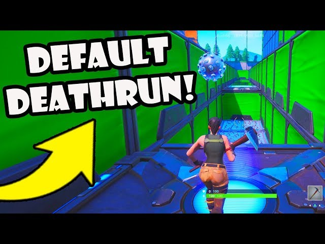 I Played Super Easy Deathruns In Fortnite Creative