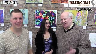 EPISODE 115 - TALKING JAZZ with Mike Jeffers feature Artist Sheri Smith