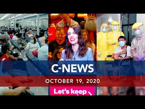 [UNTV]  UNTV: C-NEWS   October 19, 2020