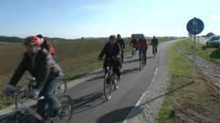 preview picture of video 'Einweihung des Radwegs Oberbibrach-Vorbach'