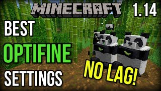 The BEST Settings for Optifine! (NO LAG) [Minecraft 1.14+]