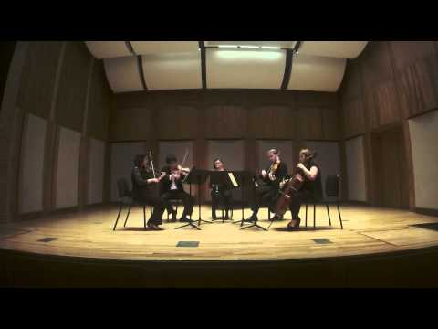 Brahms Clarinet Quintet, Movement 4.