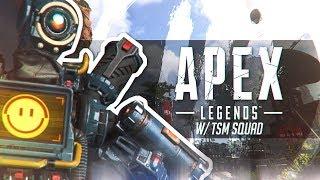 We Won Our FIRST Game of Apex Legends Battle Royale! w/ Daequan & Hamlinz