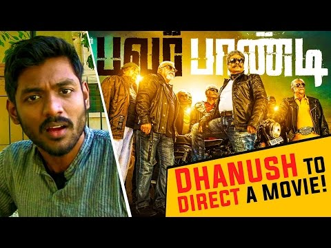 HOT-Dhanush-to-direct-a-movie-Power-Pandi