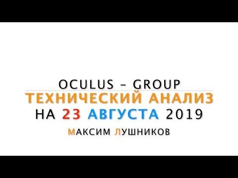 Технический обзор рынка Форекс на 23.08.2019 от Максима Лушникова