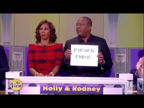 Holly Robinson & Rodney Peete Play 'The Viewlywed Game' With Our Co-Hosts Couples   The View