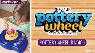 Pottery Wheel Basics