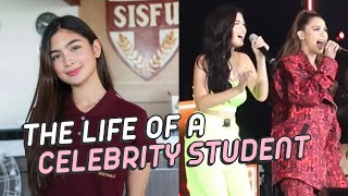 A WEEK IN THE LIFE OF A CELEBRITY STUDENT | Heaven Peralejo