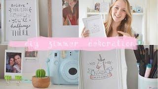 Einfache Und Günstige Zimmer Dekoration Selber Basteln | DIY Dienstag