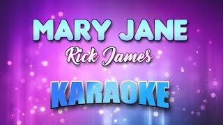 Mary Jane - Rick James (Karaoke version with Lyrics)
