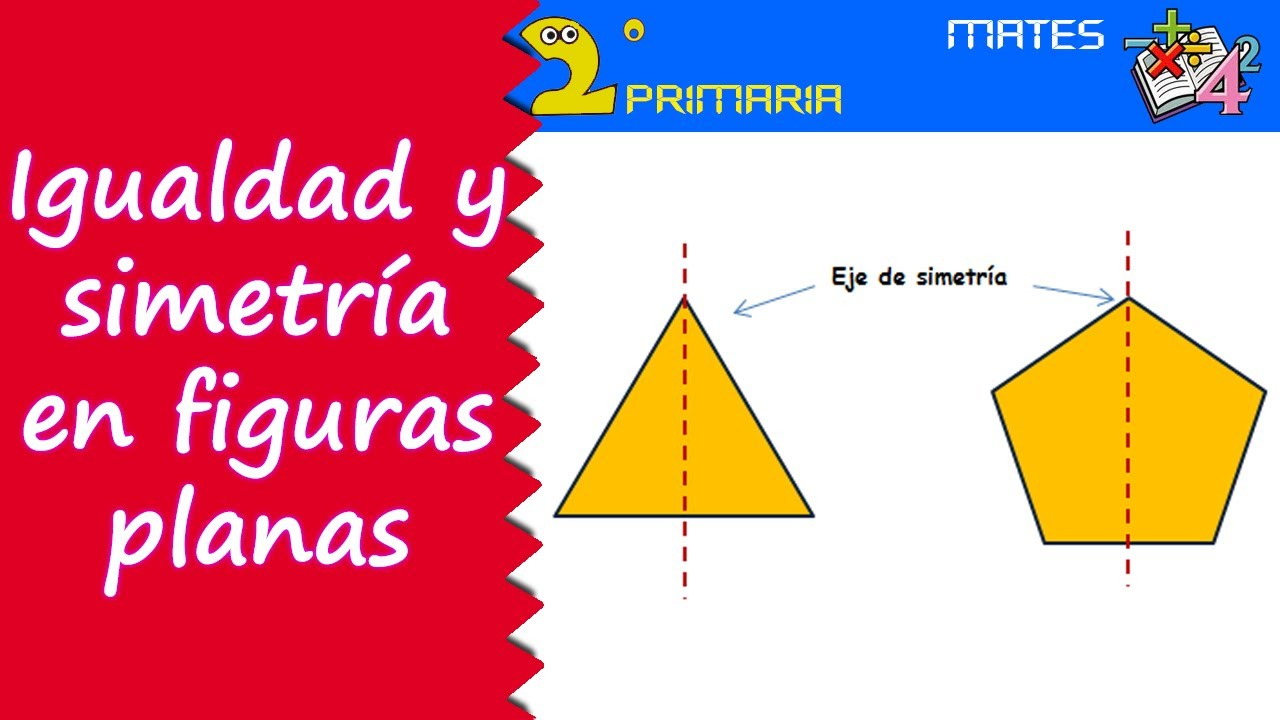 Matemáticas. 2º Primaria. Tema 7. Igualdad y simetría en figuras planas