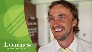 Том Фелтон, Harry Potter star Tom Felton at the cricket | MCC/Lord's