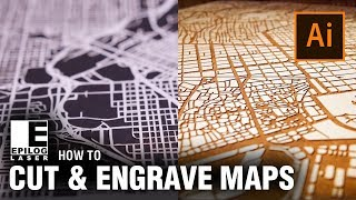 How To: Laser Cut & Engrave City Maps - Adobe Illustrator