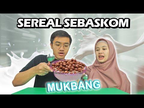 MUKBANG SEREAL SEBASKOM + MAIN TEBAK2AN 😂😂