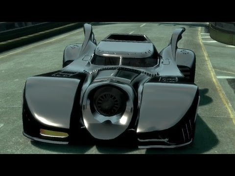 GTA 5 Bat Mobile Mods And Cars