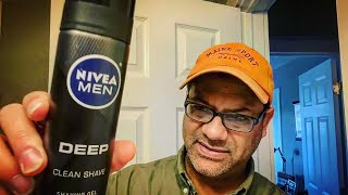 NIVEA MEN DEEP CLEAN SHAVE  |  Natural Charcoal Shaving Gel — Sunday Shave ep.34