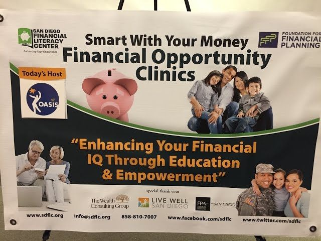 San Diegans meet for free with a Certified Financial Planner at Oasis San Diego