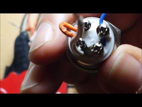 Klingelknopf mit LED Beleuchtung einbauen