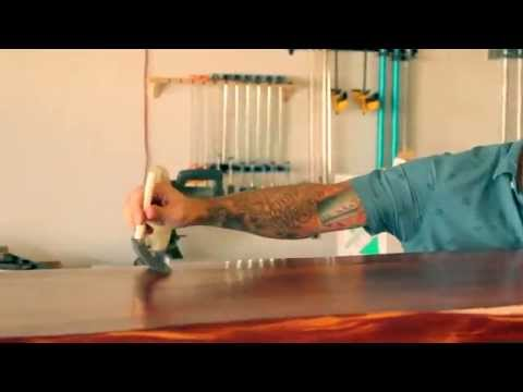 Refinishing a Table with Zar Finishing Products