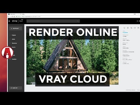 How to Render ONLINE | Chaos Cloud for Sketchup
